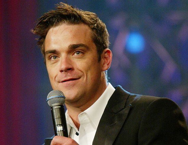 (FILE) Singer Robbie Williams And Wife Ayda Field Welcome A Baby Girl