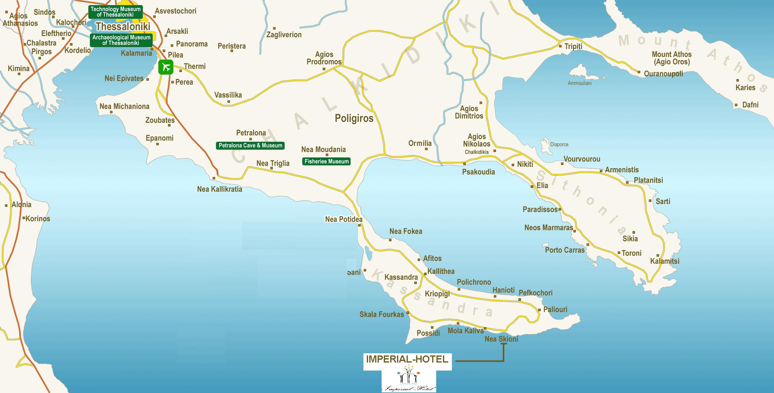 chalkidiki-map-logo